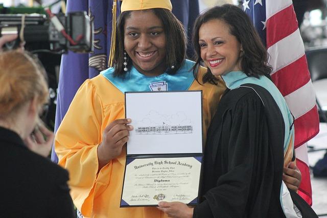 černoška s diplomem