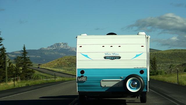 výlet karavanem